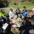 2014年11月13日、農園管理プロジェクト、寺前里山クラブ交流会