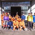 2016年03月18日、二子山山系巡視プロジェクト(葉山消防山火事防止看板点検に同行)