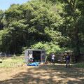 8月22日、イノシシ被害対策プロジェクト+大沢谷広場プロジェクト