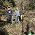 2月20日、大沢谷広場プロジェクト