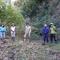 2月1日 上山口寺前谷戸復元プロジェクト
