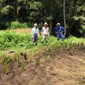 8月3日 イノシシ被害対策会議プロジェクト+大沢谷広場プロジェクト+農園管理プロジェクト