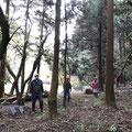 12月12日、イノシシ被害対策プロジェクト+大沢谷広場プロジェクト