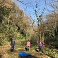 1月16日、イノシシ被害対策プロジェクト+大沢谷広場プロジェクト