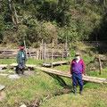3月15日、イノシシ被害対策プロジェクト+大沢谷広場プロジェクト