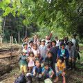 10月4日、大沢谷広場プロジェクト