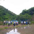 5月25日、上山口寺前谷戸復元プロジェクト