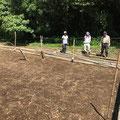 8月25日、イノシシ被害対策プロジェクト+大沢谷広場プロジェクト