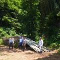 6月7日、イノシシ被害対策プロジェクト+大沢谷広場プロジェクト