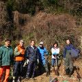 2015年1月25日、上山口寺前谷戸復元プロジェクト、1月定例作業