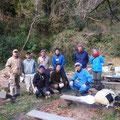 2015年12月20日、上山口寺前谷戸復元プロジェクト