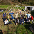 2014年11月23日、上山口寺前谷戸復元プロジェクト、11月定例作業
