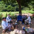 8月5日 イノシシ被害対策会議プロジェクト