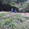 10月5日、イノシシ被害対策プロジェクト+農園管理プロジェクト