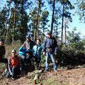 2014年12月13日、戸根山山頂プロジェクト、定例作業
