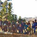 2015年01月10日、戸根山山頂プロジェクト、定例作業
