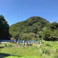 9月28日、上山口寺前谷戸復元プロジェクト+おひさま