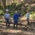 2月13日、森林づくり実践研修