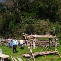 3月27日、イノシシ被害対策プロジェクト+大沢谷広場プロジェクト