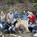 2015年3月21日、炭焼き復活プロジェクト