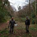 1月17日、イノシシ被害対策プロジェクト+大沢谷広場プロジェクト