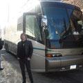 Me infront of our tourbus