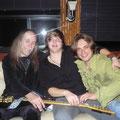 Uli,David and me