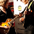 Andre Mertens und Michael Wagner, die 2 Gewinner des Guitarwawards