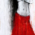 """Tanz Nr.2"" | Acryl auf Sperrholz | 82x172cm"