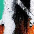 """Pferdchen lauf Galopp I"" | Acryl auf Sperrholz | 80x185cm"