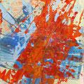 """Hase"" | Hinterglasmalerei | 40x45cm"