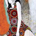 """Tanz Nr.11"" | Acryl, Papier auf Sperrholz | 114x172cm"