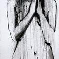 """Kontemplation Nr.3"" | Acryl auf Sperrholz | 84x185cm"