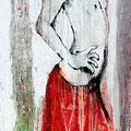 """Tanz Nr.8"" | Acryl auf Sperrholz | 84x172cm"