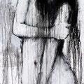 """Kontemplation Nr.2"" | Acryl auf Sperrholz | 84x185cm"