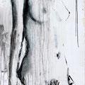 """Kontemplation Nr.1"" | Acryl auf Sperrholz | 84x185cm"