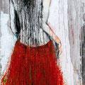 """Tanz Nr.4"" | Acryl auf Sperrholz | 90x172cm"