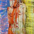 Ohne Titel | Hinterglasmalerei | 50x70cm
