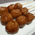 Japanese Style Chicken Meat Ball (TSUKUNE) つくね