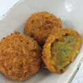 Curried Vegetable & Soya Milk Roux Croquette 豆乳カレーコロッケ