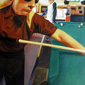 "PoolBoys1996 (24""x36"") acrylic on canvas"