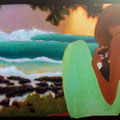"TillTheStarsShine 2010 (36""x72"") acrylic on wood"