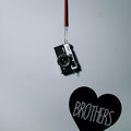 Brothers Heart love memories vinyl wall art from www.wallartcompany.co.uk