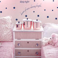 Night night sleep tight dream of stars shining bright vinyl wall art decal