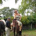 ...in Brasilien, beim 1-wöchigen Trailritt