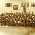 Gruppenfoto von 1905