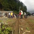 戸倉の小屋っこ整備 水戸辺地区側溝掃除