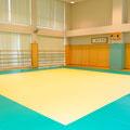 柔道場 公式の試合が行えるほどのスペース