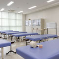 柔道整復実技室1