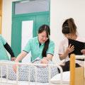 介護福祉学科 実技の授業風景